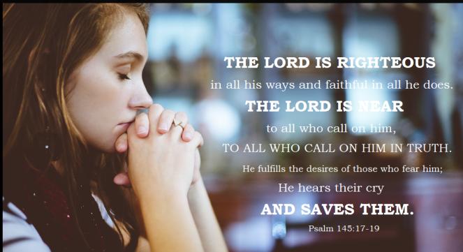 Psalm 145 17-19
